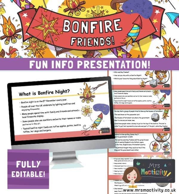 bonfire night powerpoint presentation