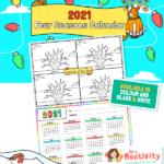 Four Seasons Tree Calendar Pack