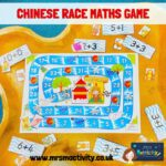 year of the rat maths activity game EYFS