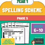 Year 1 Spelling Scheme Phase 5 - Weeks 6-10
