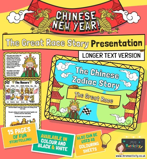The Story of Chinese New Year Presentation- Simplified Version