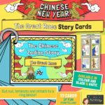 Chinese New Year Story of the Zodiac Sequencing Cards