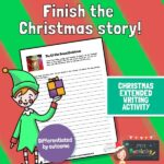 Finish the Story - The Elf Who Saved Christmas