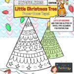 Mindfulness Christmas Tree Craft