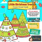 Christmas Tree Paper Cone Toy
