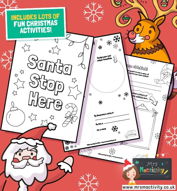 Christmas activity worksheets