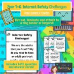 Internet safety challenge cards years 1-6