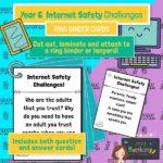 Year 6 Internet Safety Challenge Cards