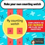 Maths counting watch craft