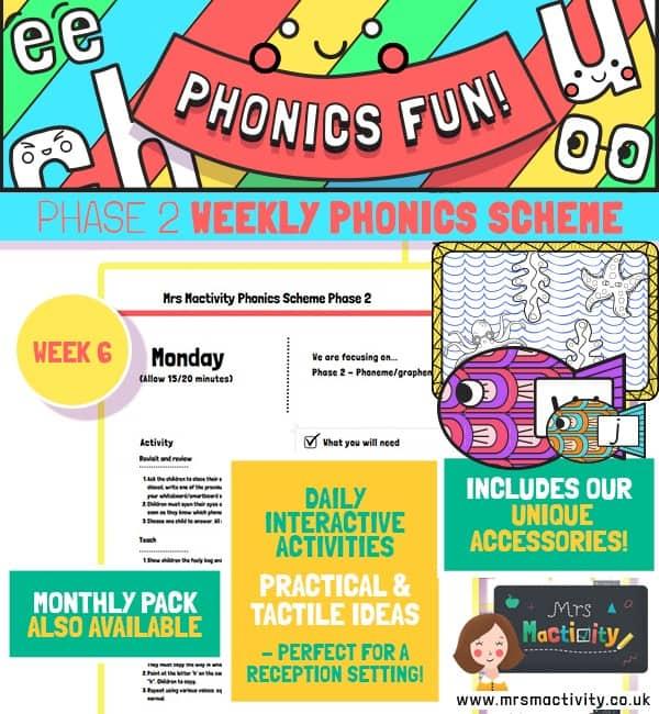 Phonics Scheme Phase 2 Week 6