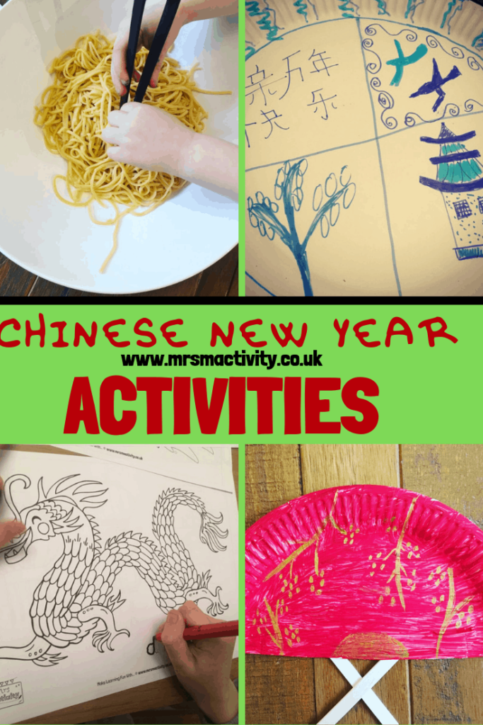 Chinese new year activity ideas