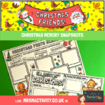 Christmas Memory Snapshot Worksheet