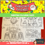 Christmas Colouting pages