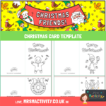 Christmas Card Template pdf