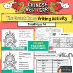 CNY The Great Race Story Writing Activity SMALL