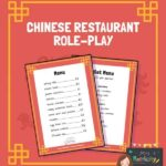 Chinese restaurant menu preview