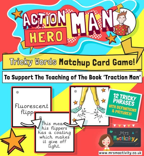 Vocabulary Activity To Support Teaching of Traction Man
