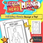 Design your own Action Hero Man Toy