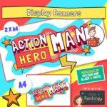 Action Hero Man Display Banners