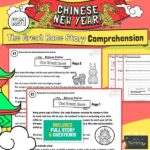 Chinese new year comprehension activity
