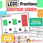 lego fraction challenge cards
