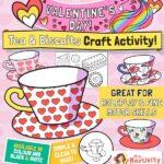 Valentine's Day Teacup Craft Activity