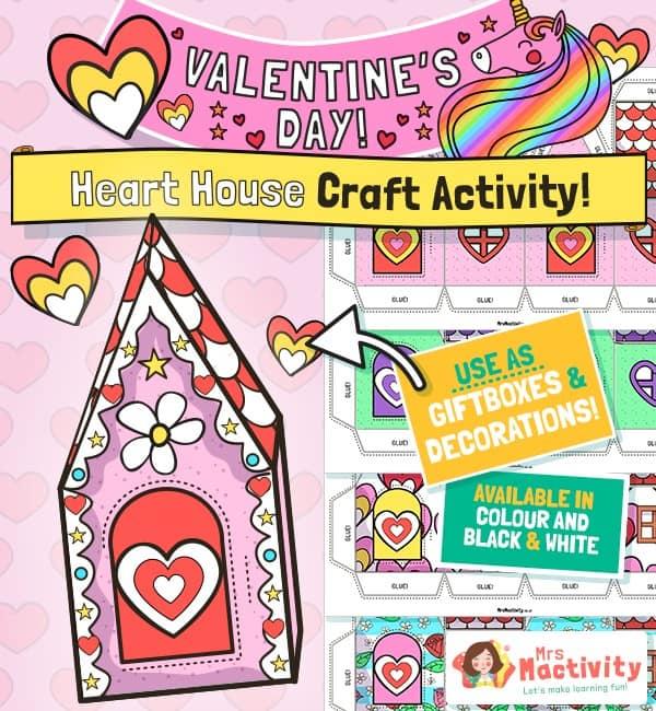 Valentine's Day Giftbox house