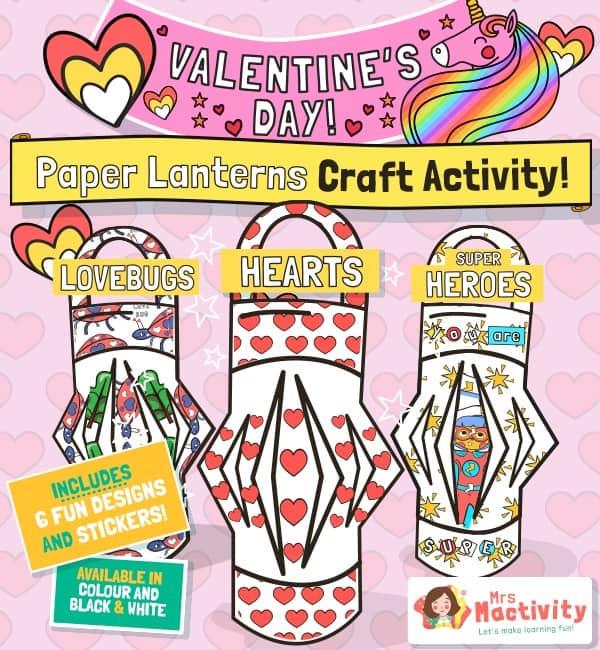 Valentine's Day Lantern Craft