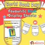 World Book Day Book Review Activity Sheet