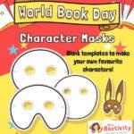 World Book Day Character Masks