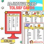 Tolsby Frame Adjectives Word Card