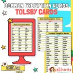 Tolsby Frame Common Exception Words