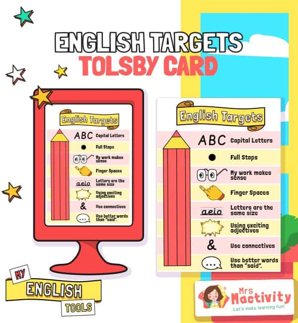 Tolsby Frame Sentence Formation English Targets