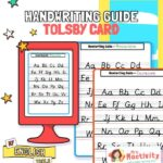 Tolsby Frame Handwriting Guide