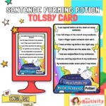 Tolsby Frame Sentence Forming Sentence Cards