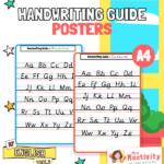 Handwriting Guide Posters