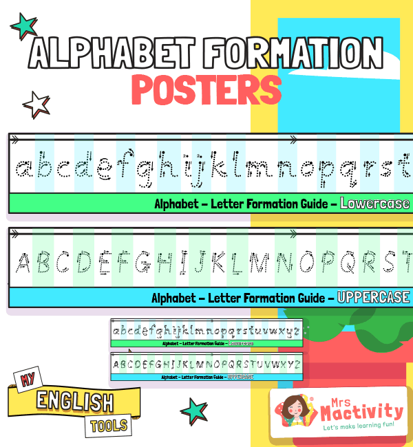 Alphabet Formation Posters