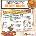 Pancake Day Recipe Cards