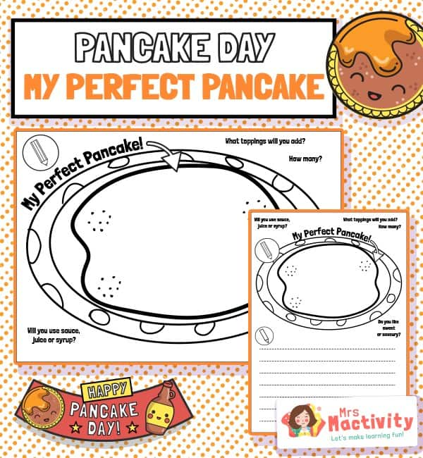Perfect pancake worksheet