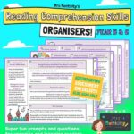 Year 5/6 Reading Comprehension Skills Organiser