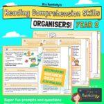 Year 2 reading comprehension skills organiser