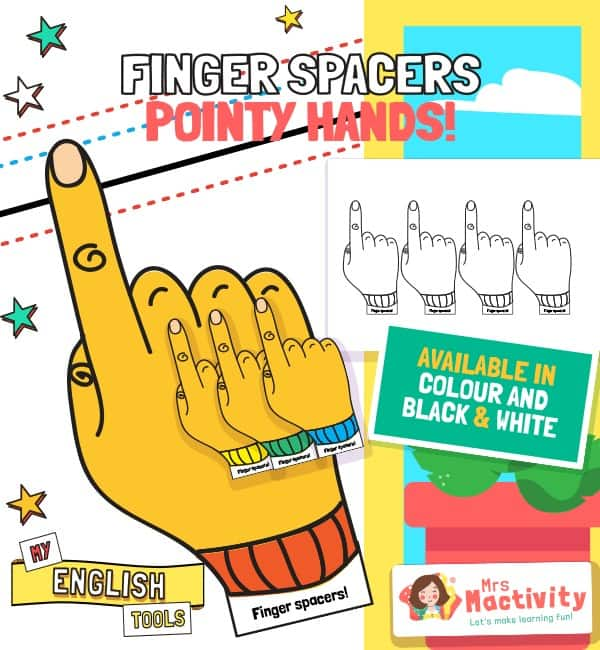 Finger Spacers - Hands