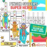 Finger Spacers - Superheroes