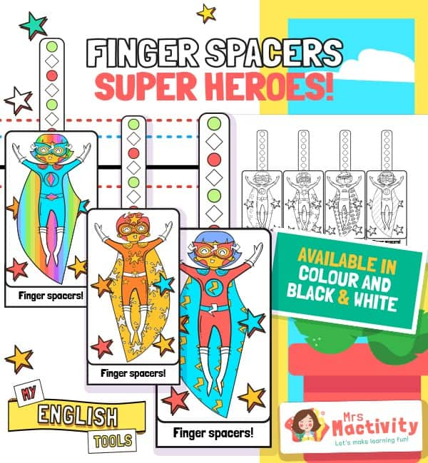 Finger Spacers - Superheroes