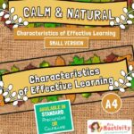 Characteristics of Effective Learning Banners - Small