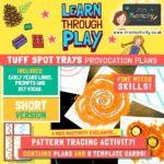 Tuff Spot Tray Pattern Tracing Provocation - Short Plan