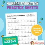 Numbers Formation Practice Sheet