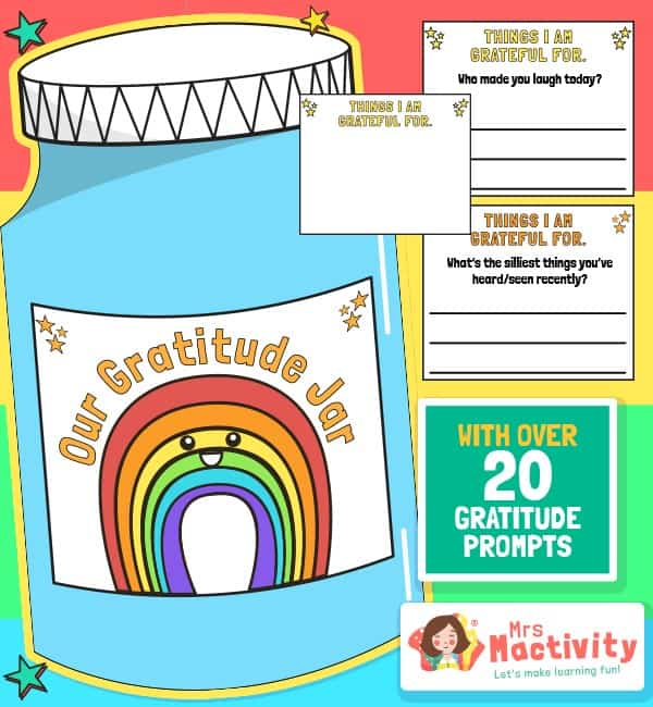Lockdown Gratitude Jar Activity