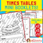 2,5 and 10 Times Tables Mini Booklets