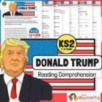 KS2 Donald Trump Reading Comprehension Activity